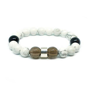 CatstoneNYC White Turquoise Bracelet for Men - Catstone NYC