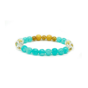 CatstoneNYC May Birthstone Amazonite Bracelet for Men and Women - Catstone NYC