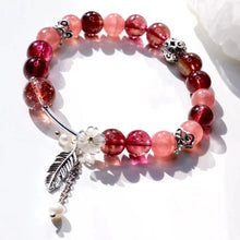 Load image into Gallery viewer, CatstoneNYC Customized Gemstone - Rose Quartz Crystal Beads Bracelet - Catstone NYC