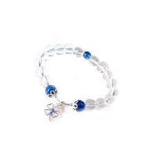 Load image into Gallery viewer, CatstoneNYC March Birthstone Blue Kyanite Bracelet for Women - Catstone NYC