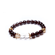 Load image into Gallery viewer, CatstoneNYC January Birthstone Garnet Bracelet for Women - Catstone NYC