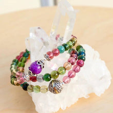 Load image into Gallery viewer, CatstoneNYC Customized Gemstone - Buddha Crystal Beads Bracelet - Catstone NYC