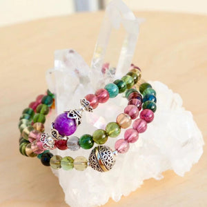 CatstoneNYC Customized - Buddha Crystal Beads Bracelet - Catstone NYC