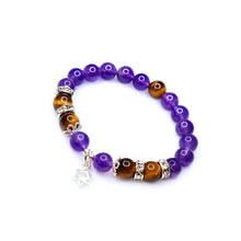 Load image into Gallery viewer, CatstoneNYC February Birthstone Amethyst Bracelet for Women - Catstone NYC
