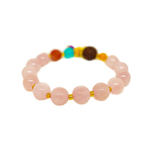 Load image into Gallery viewer, CatstoneNYC Pig Year Collection Rose Quartz Crystal Gemstone Bracelet - Catstone NYC