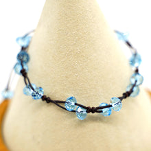 Load image into Gallery viewer, CatstoneNYC Celestite Blue Crystal String Bracelet for Women and Men - Catstone NYC