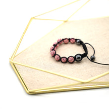 Load image into Gallery viewer, CatstoneNYC Pink Rhinestone Beads Bracelet for Women and Men - Catstone NYC