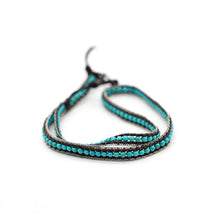 Load image into Gallery viewer, CatstoneNYC Turquoise Beads Braided Wrap Bracelet for Women and Men - Catstone NYC