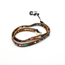 Load image into Gallery viewer, CatstoneNYC Rainbow Beads Braided Wrap Bracelet for Women and Men
