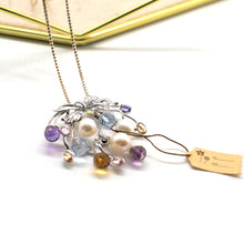 Load image into Gallery viewer, Fruit Pendant Crystal Bead Necklace - Catstone NYC