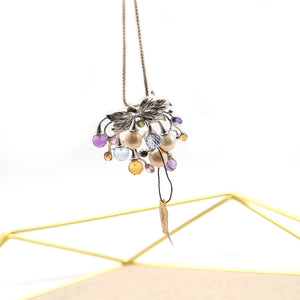 Fruit Pendant Crystal Bead Necklace - Catstone NYC