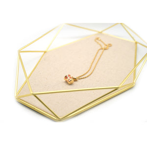 """I Love You"" Pendant Gold Plate Necklace - Catstone NYC"