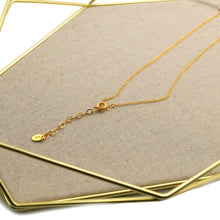 Load image into Gallery viewer, Gold Leaf Pendant Necklace - Catstone NYC