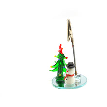 Load image into Gallery viewer, Christmas Element Table Number Holder - Catstone NYC