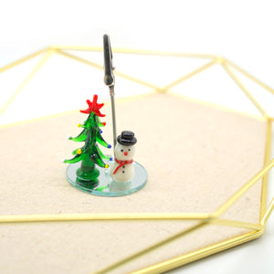 Christmas Element Table Number Holder - Catstone NYC