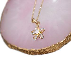 Star Pendant Gold Plated Necklace - Catstone NYC