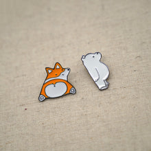 Load image into Gallery viewer, Cute Corgi Dogs and Polar Bear Brooches - Catstone NYC