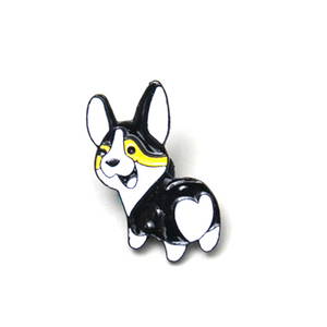 Cute Corgi Dogs and Polar Bear Brooches - Catstone NYC