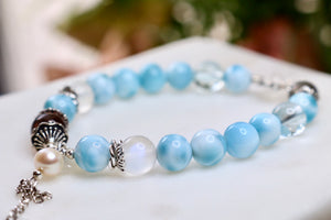 CatstoneNYC Customized  - Atlantis Stone Beaded Bracelet - Catstone NYC