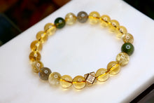 Load image into Gallery viewer, CatstoneNYC Customized - Citrine and Green Phantom Bracelet and Necklace - Catstone NYC