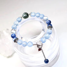 Load image into Gallery viewer, Customized - Blue Aventurine Crystal Beaded Bracelet - Catstone NYC