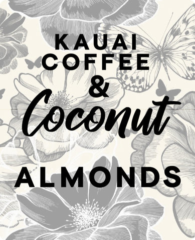 Kauai Coffee Almonds with coconut