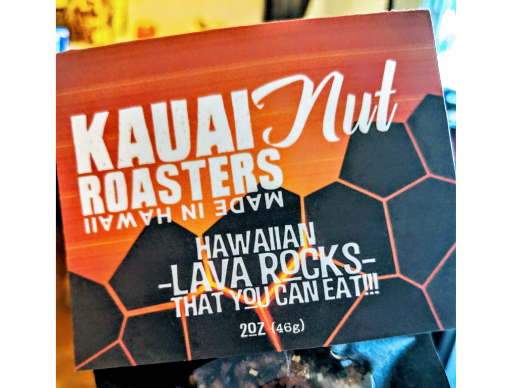 Lava Rocks Nuts