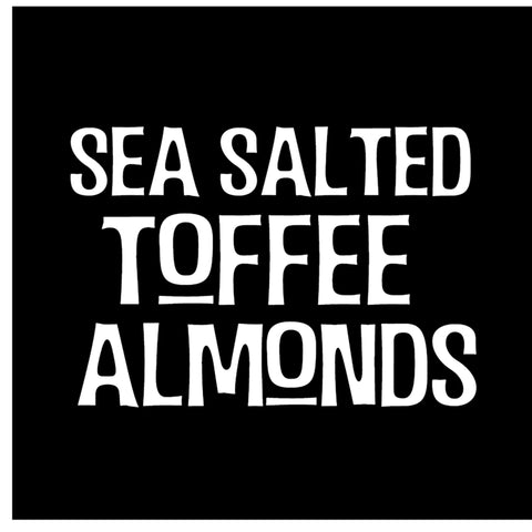 Sea Salted Toffee Almonds