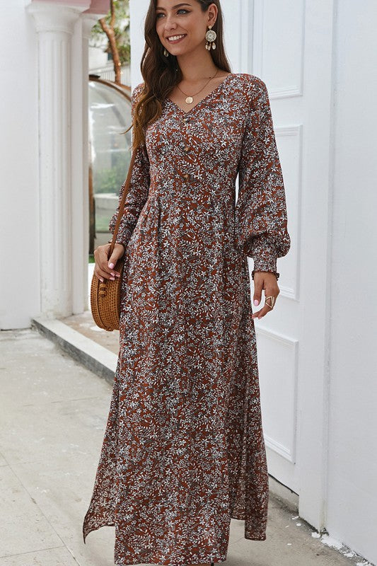 Delightful Occasion Maxi Dress