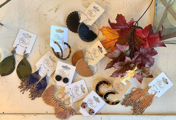 Pumpkin Spice Earring Collection
