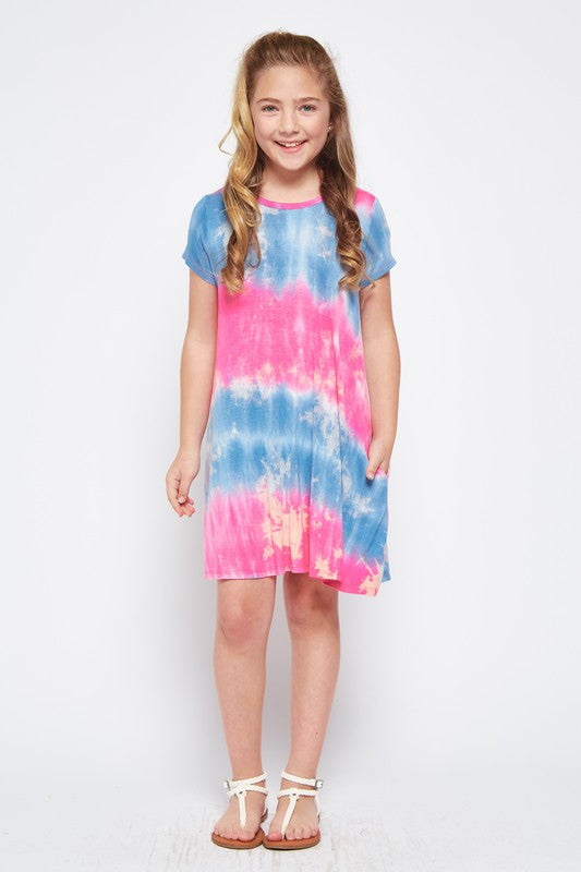 Kids Tiedye Dress