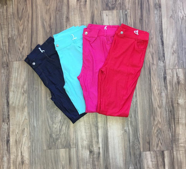 Curvy Jeggings, Multiple Colors - Blush Boutique Bremen