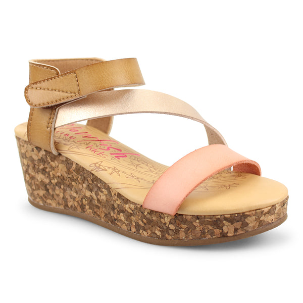 Girls Wedge Sandal