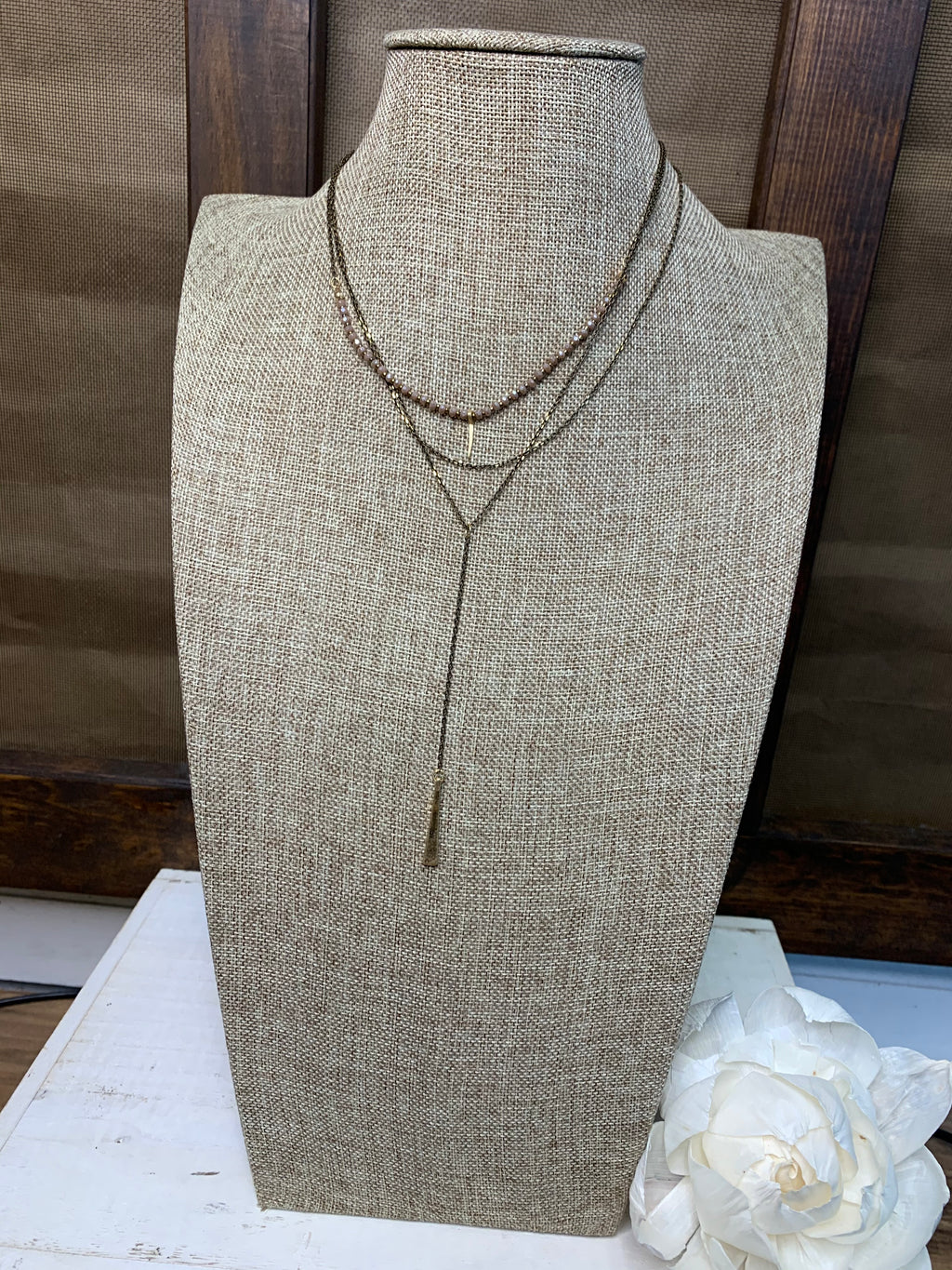 Dainty Three Layer Necklace