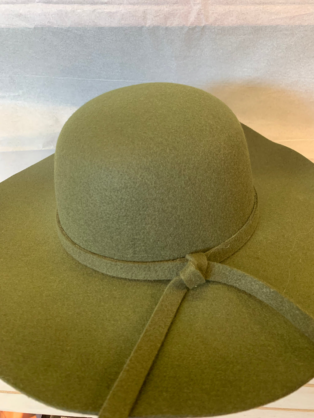 Felt and Suede Hat