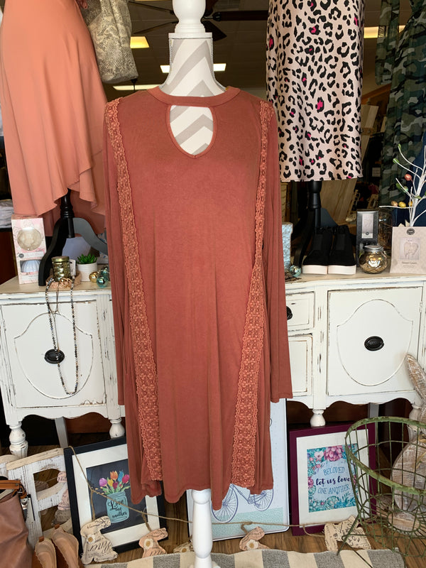Rust Dress-Sale