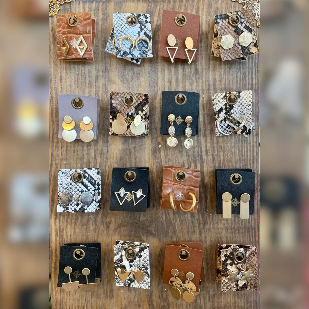 Ivy Stud Earring Collection