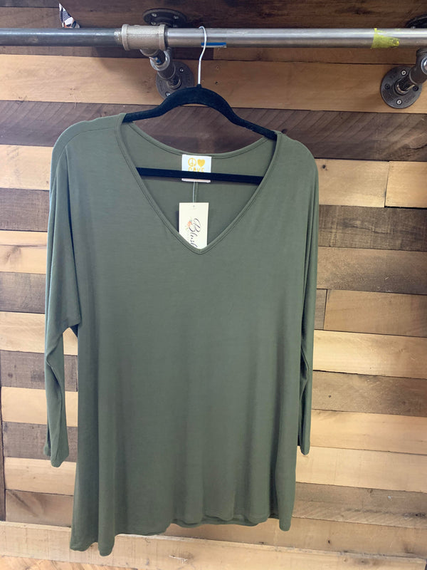 Blake Long Sleeve VNeck
