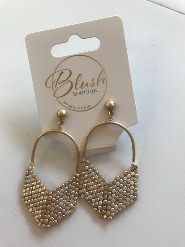 Bead Arrowhead Earrings - Blush Boutique Bremen