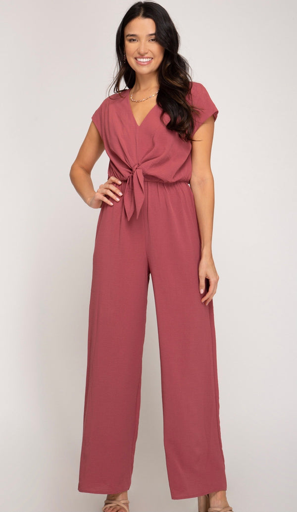 Mauvelous Jumpsuit