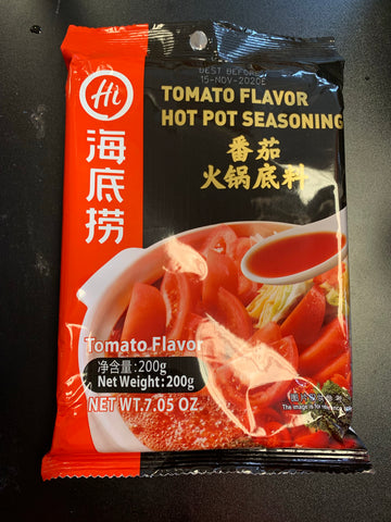 海底捞番茄底料 tomato flavor hot pot seasoning 200g