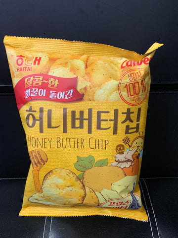 黄油薯片 Haitai- home butter chip 350g