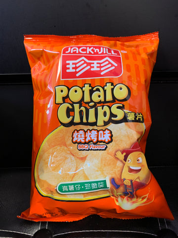珍珍烧烤味薯片 Potato Chips bbq flavor 60g