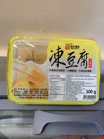 冻豆腐 Frozon Tofu 300g