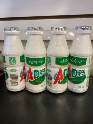 哇哈哈AD钙奶 Calcium Enriched Milk 220ml*4