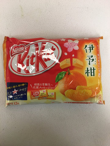 雀巢橘子味威化饼干 Kitkat Orange flavour