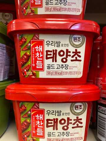 韩式辣椒酱 Korean Hot Pepper Paste 500g