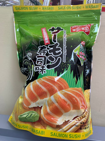三文鱼寿司味薯片 potato chips salmon sushi flavor 52.5g