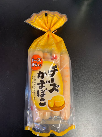 Japanese cheese sausage 32g*8