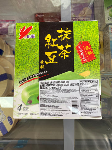 抹茶红豆雪糕 matcha&red beanice bar 70ml*4